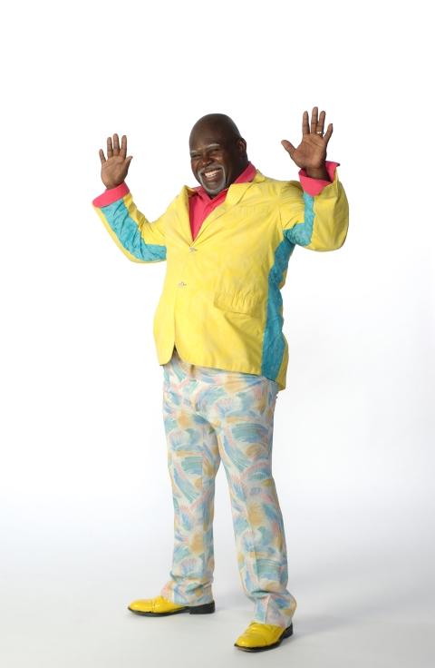 Mr. Brown Hands Up